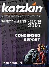 Katzkin :: Safety and Engineering Condensed Dealer Manual