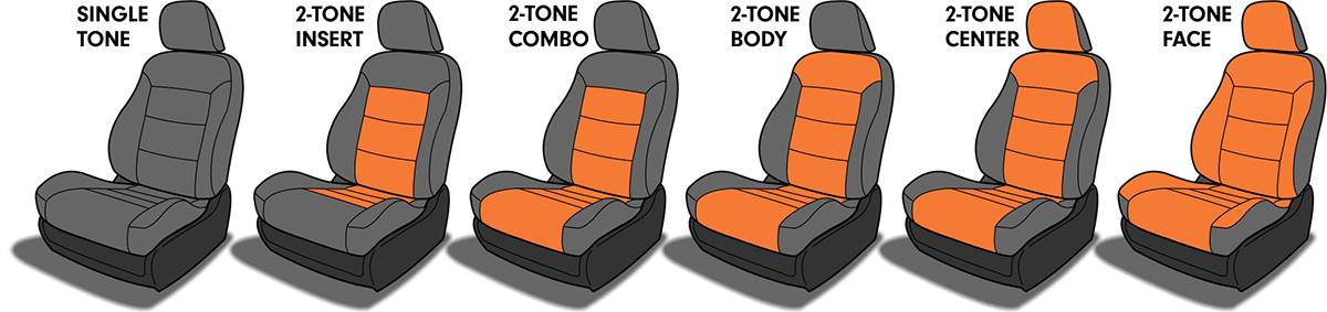 Katzkin Custom Seat Design Options