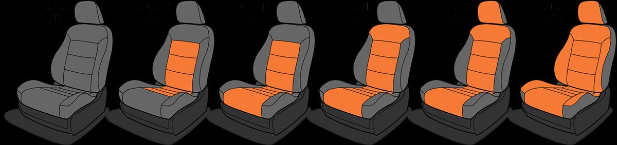 Katzkin Custom Seat Design Options