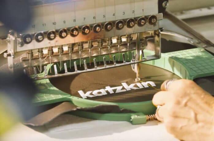 Katzkin Custom Seat Embroidery