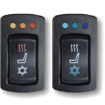 seat heater and seat cooler buttons