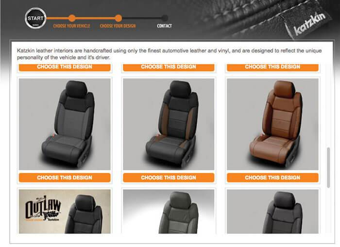 Choose Your Leather Seat Design