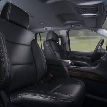 Katzkin Chevy Tahoe Leather Seats Low Angle