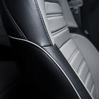 Katzkin Honda CRV Two Tone Leather Seat
