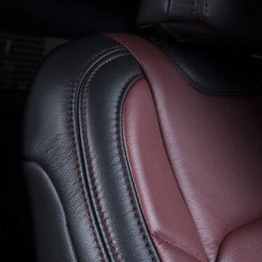 Katzkin Ford F-150 Red Leather Seat Upper