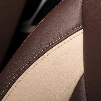 Katzkin Jeep Wrangler Leather Suede Seat