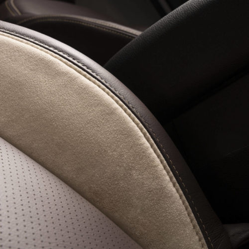 Katzkin Jeep Wrangler Suede Leather Passenger Seat