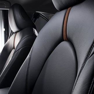 Katzkin Toyota Camry Black Leather Interior Driver's Seat