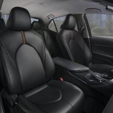 Katzkin Toyota Camry Black Leather Interior