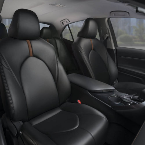 Katzkin Toyota Camry Black Leather Interior