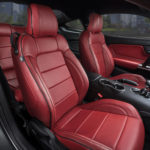 Katzin Ford Mustang Red Leather Interior Seats