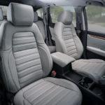 Katzkin Honda CRV Ash Grey Leather Seats