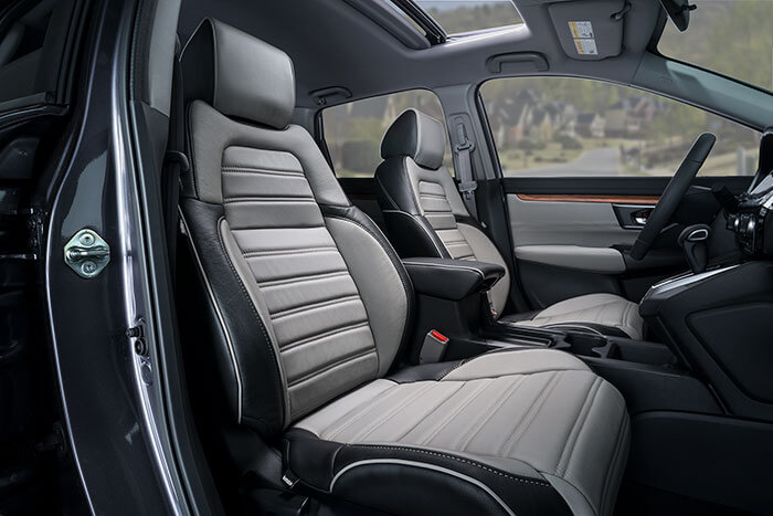 honda cr v leather seats interiors seat covers katzkin. Black Bedroom Furniture Sets. Home Design Ideas