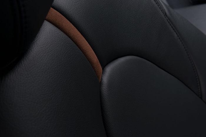 Katzkin Toyota Camry Black Leather Seats Angle 1