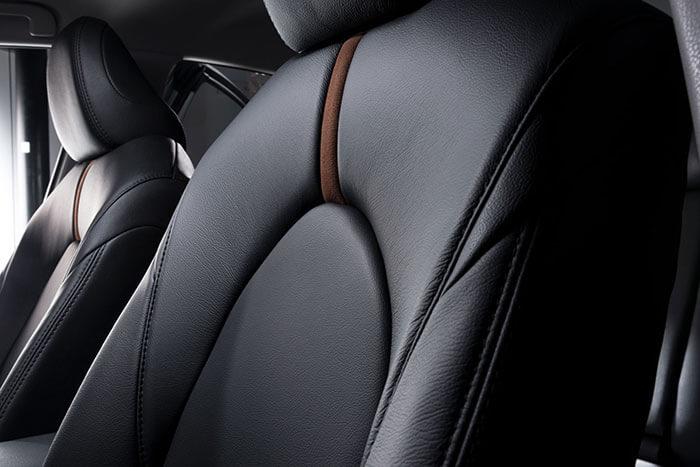 Katzkin Toyota Camry Black Leather Driver's Seat