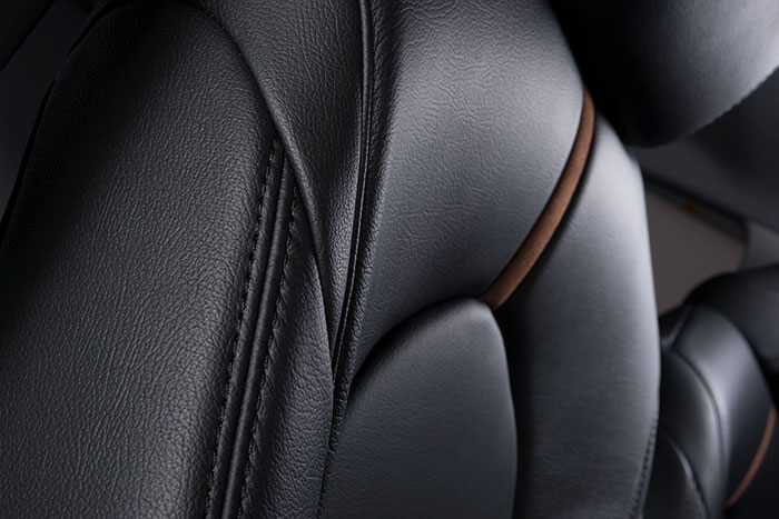 Katzkin Toyota Carmy Black Leather Interior Side Angle
