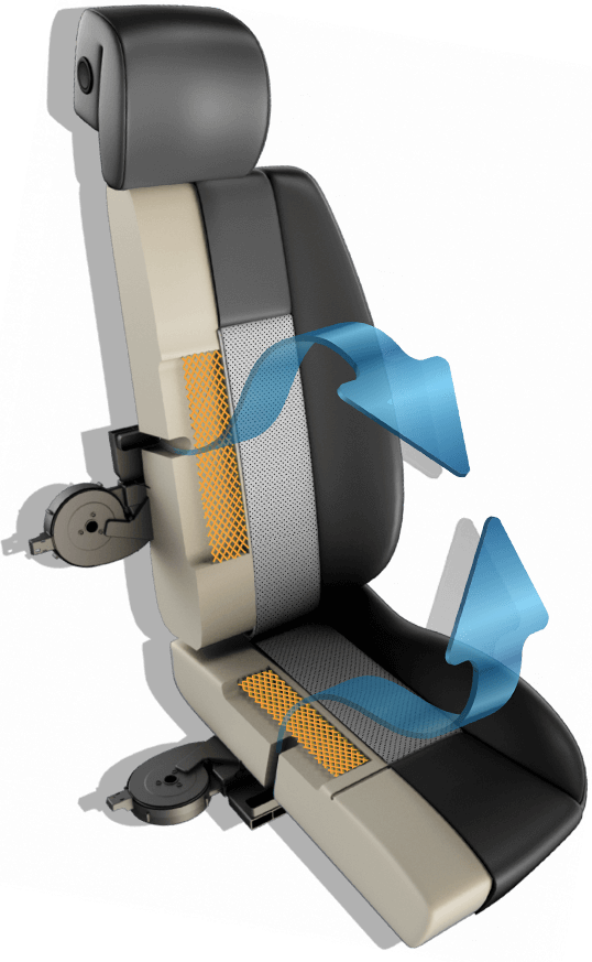 Heated and Cooled Seats | Aftermarket | DegreeZ by Katzkin on