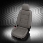 Chevrolet Equinox Gray Leather Seat