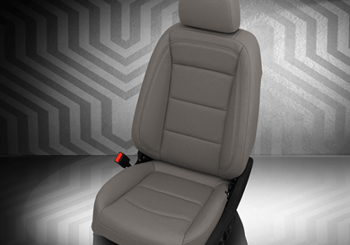 Chevrolet Equinox Gray Leather Seat