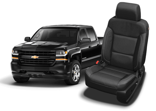 2018 chevy silverado 1500 leather seat covers