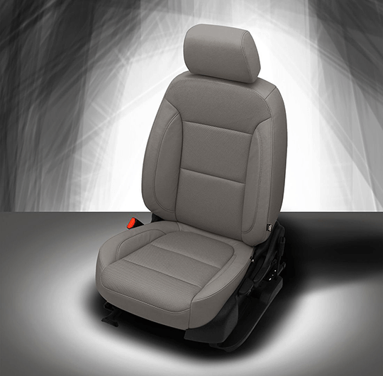 Chevy Traverse Grey Leather Seat