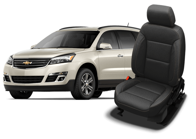 Chevrolet Traverse Leather Seat Wrap