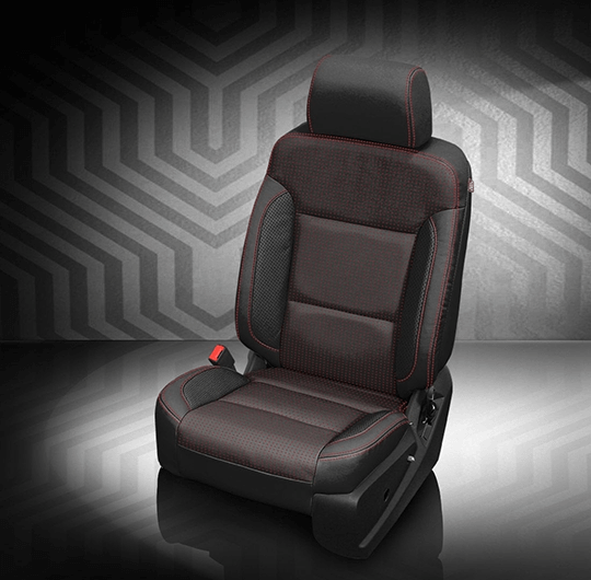 Chevrolet Silverado Charcoal Dark Leather Seat