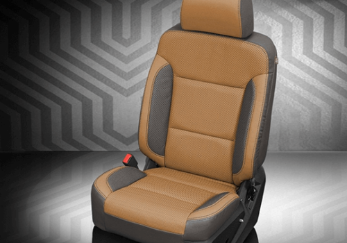 Chevrolet Silverado Tan Leather Seat
