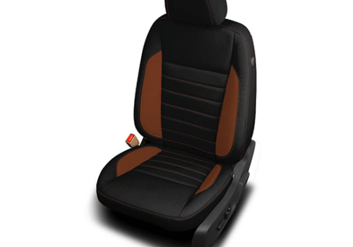 Ford Escape Black Leather Seat with Accents