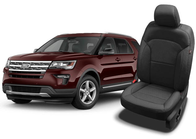 Ford Explorer Leather Seats Interiors Seat Covers Katzkin