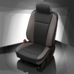 Ford F-250 Black & Grey Leather Seat