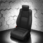 Honda Accord Black Leather Seat