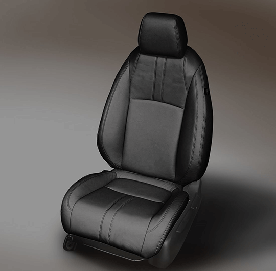 Honda Civic Black Leather Seat