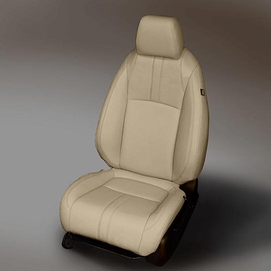 Honda Civic Tan Leather Seat
