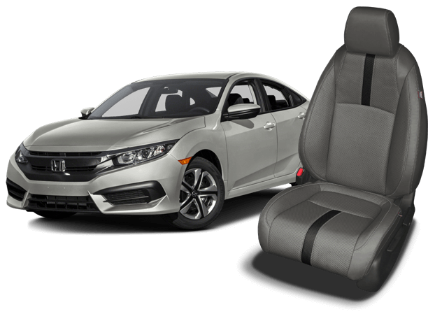 Honda Civic Leather Seats Interiors Seat Covers Katzkin