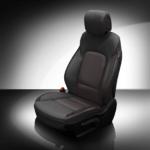 Hyundai Santa Fe Black Leather Seat