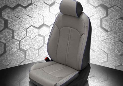 Hyundai Sonata Grey Leather Seat