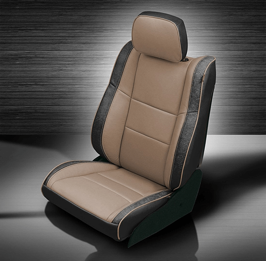 Jeep Grand Cherokee Tan U0026 Black Leather Seats