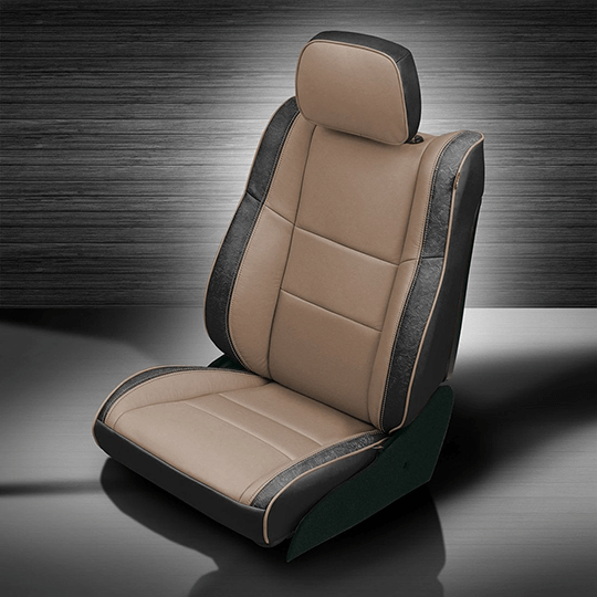 Jeep Grand Cherokee Tan & Black Leather Seats