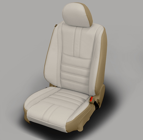 Nissan Altima Grey Leather Seat