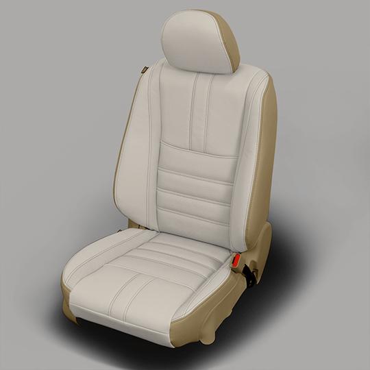 Nissan Altima Grey Leather Seat