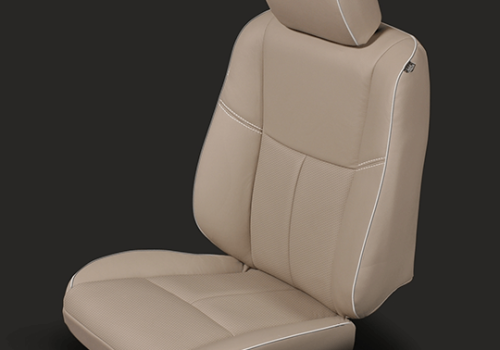 Nissan Altima Tan Leather Seat