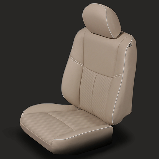 Nissan Altima Tan Leather Seat