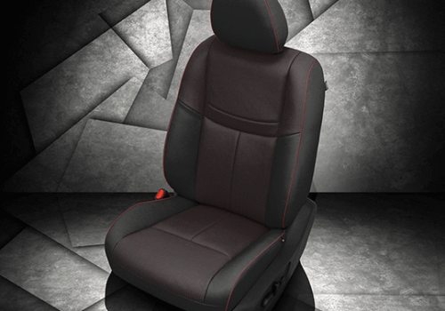 Nissan Rogue Black Leather Seat