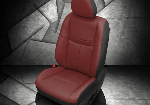 Nissan Rogue Red Leather Seat