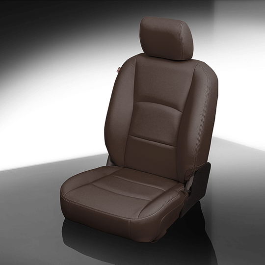 Ram 1500 Brown Leather Seat