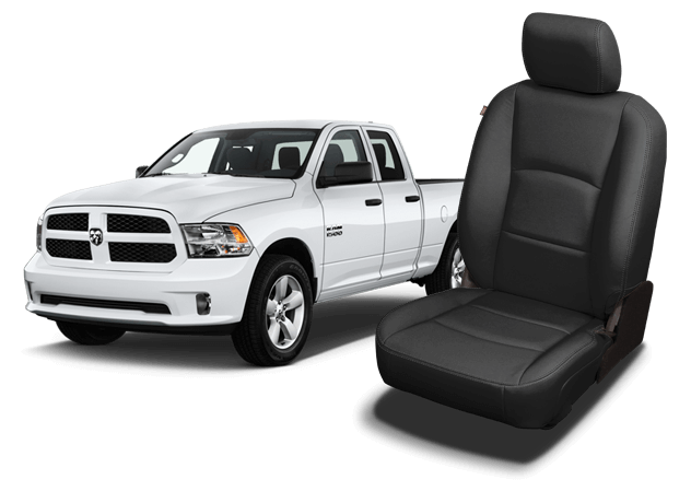Surprising Ram 1500 Leather Seats Dodge Ram Seat Covers Katzkin Andrewgaddart Wooden Chair Designs For Living Room Andrewgaddartcom