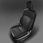 Subaru Forester Black Leather Seat
