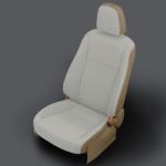 Toyota Highlander Light Tan Leather Seat