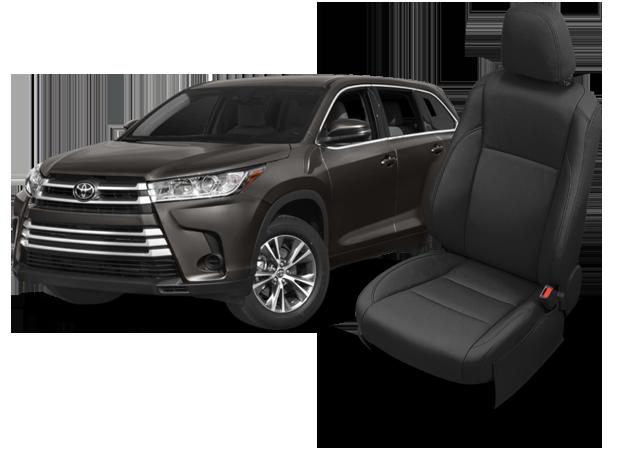 Toyota Highlander Seating >> Toyota Highlander Leather Seats Interiors Seat Covers Katzkin